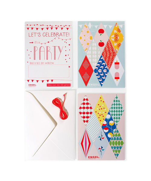 Engel DIY Mini-Bunting Card
