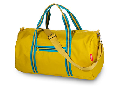 Engel Mustard Zipper Weekend Bag 2.0