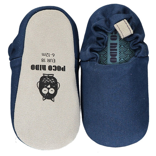 Poco Nido French Navy Mini Shoes