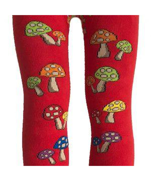 Slugs and Snails Red Fun Guy Tights