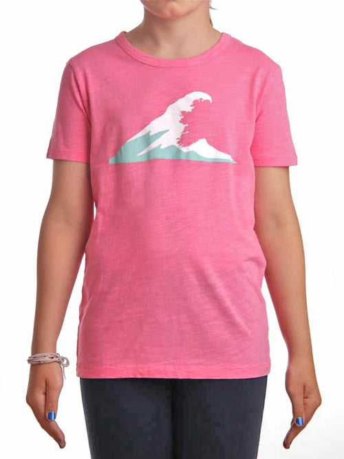 Tonn Wave T-Shirt Pink - Child