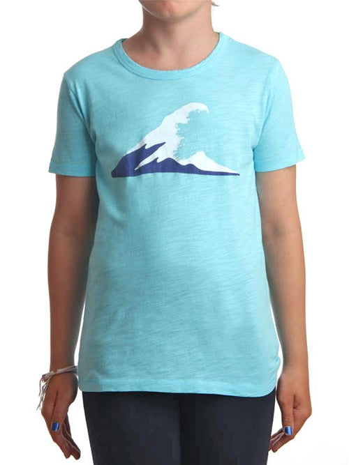 Tonn Wave T-Shirt Turquoise - Child