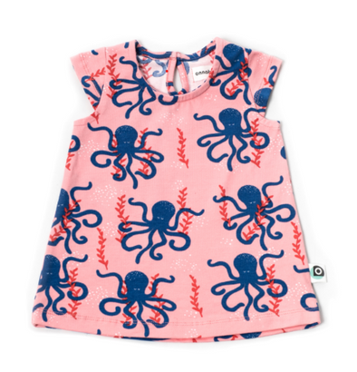 Onnolulu Kika Octopus Jersey Dress
