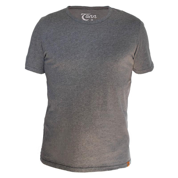 Tonn Men's Plain T-Shirt Grey Marl