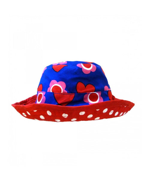 Toby Tiger Heart Reversible Sun Hat