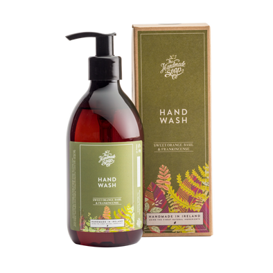 The Handmade Soap Company Sweet Orange Basil & Frankicense Hand Wash
