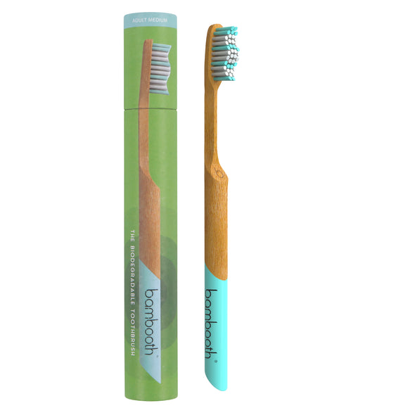 Bambooth Aqua Marine Adult Soft Toothbrush