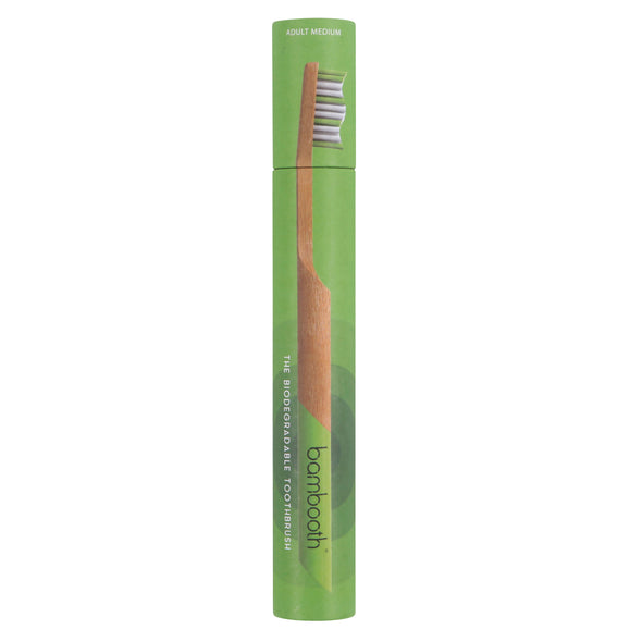 Bambooth Forest Green Adult Soft Toothbrush