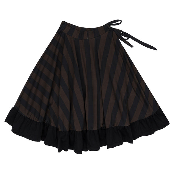 Jelly Alligator Imperial Stripes Victorian Skirt