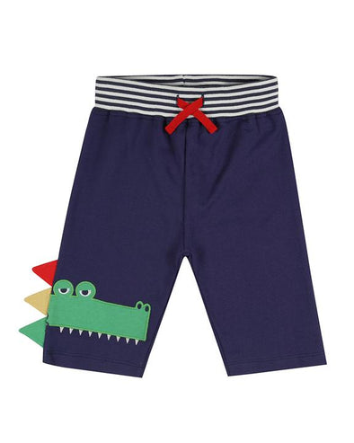 Lilly And Sid Croc Appliqué Shorts