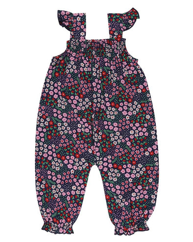 Lilly and Sid Ditsy Dungarees