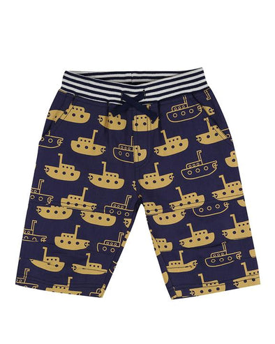Lilly And Sid Yellow Submarine Board Shorts