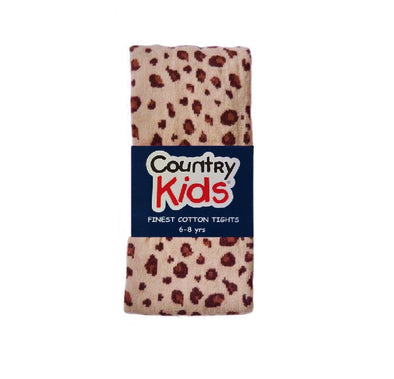Country Kids Leopard Tights