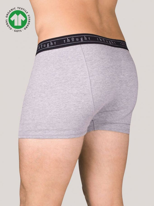 Thought Asher Bamboo Boxers - Grey Marl