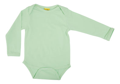 DUNS More Than A Fling Nile Green Long Sleeved Bodysuit