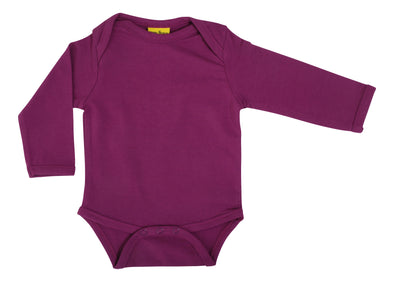 DUNS More Than A Fling Hyacinth Violet Long Sleeved Bodysuit
