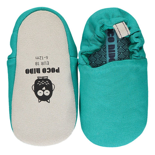 Poco Nido Marine Green Mini Shoes