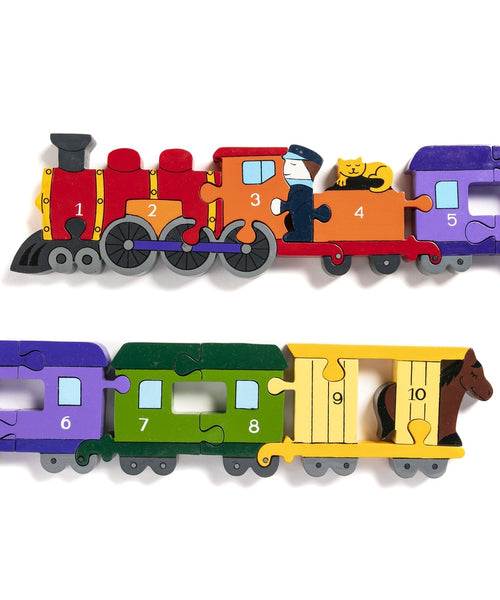 Alphabet Jigsaws Train Number Jigsaw