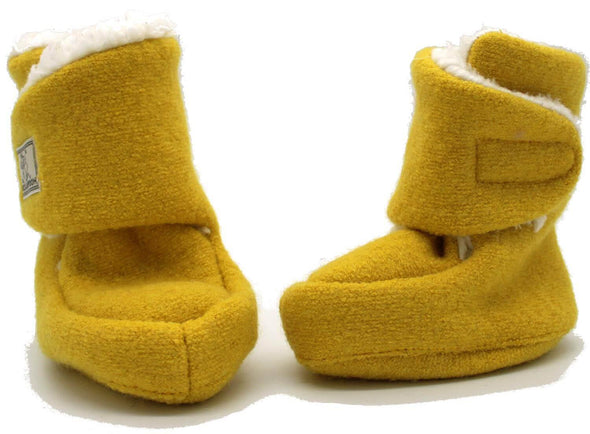 Pickapooh Trotter Sherpa Lined Booties Honey