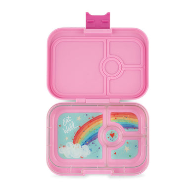 Yumbox Panino Power Pink - Rainbow Tray