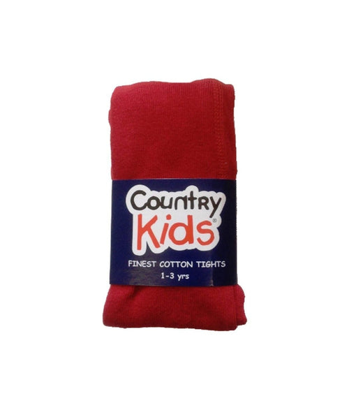 Country Kids Red Tights