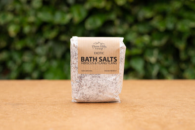 Three Hills Hibiscus and Ylang-Ylang Bath Salts