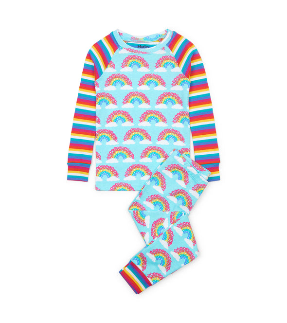 Hatley Magical Rainbows Raglan Pyjamas