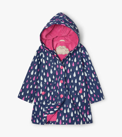 Hatley Rain Drops Colour Changing Splash Jacket