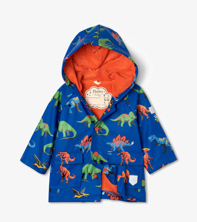 Hatley Friendly Dinos Baby Raincoat