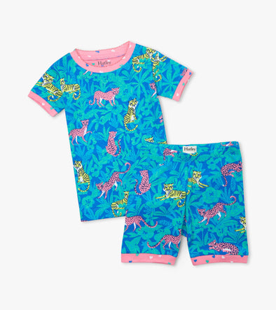 Hatley Jungle Cats Short Pyjamas