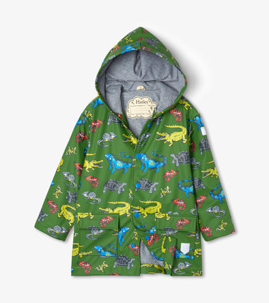 Hatley Aquatic Reptiles Classic Raincoat