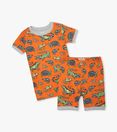 Hatley Aquatic Reptiles Short Pyjamas
