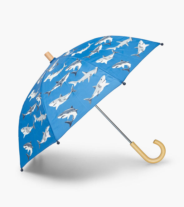 Hatley Deep Sea Sharks Colour Changing Umbrella