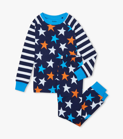 Hatley Stars and Stripes Raglan Pyjamas