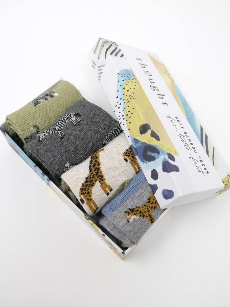 Thought Baby Zoological Sock Box - SBK5116