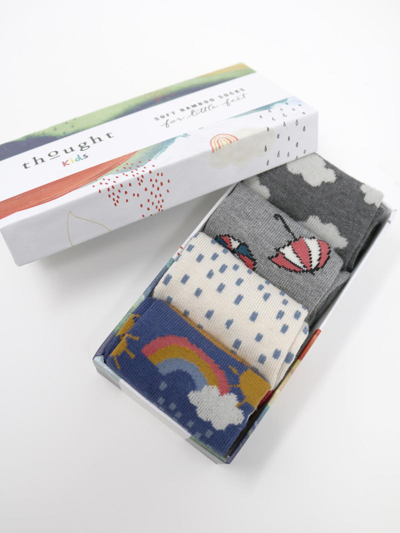 Thought Kids Overcast Sock Box - SBK5291
