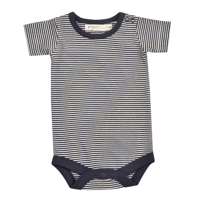 Pigeon Organics Navy Stripe Summer Body