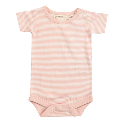 Pigeon Organics Pink Stripe Summer Body