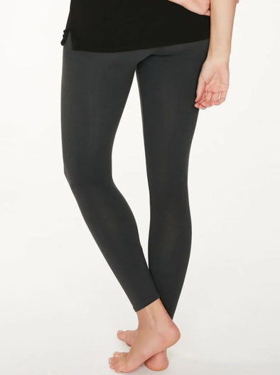 Thought Bamboo Base Layer Leggings - Pewter