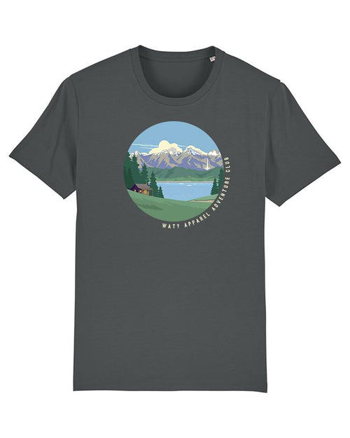 Wat? Apparel Men's Adventure Club T-Shirt Anthracite
