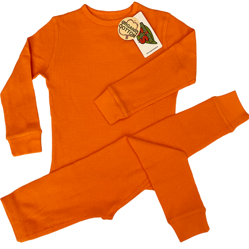 Slugs and Snails Orange Peel Waffle Cotton Set
