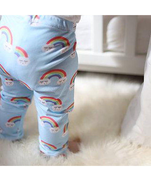 Little Loves Cornwall Exclusive Rainbows Leggings