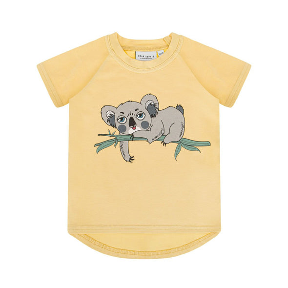 Dear Sophie Koala Pale Yellow T-shirt