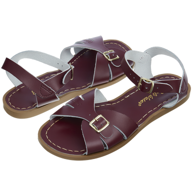 Salt-Water Sandals Classic Claret - adult