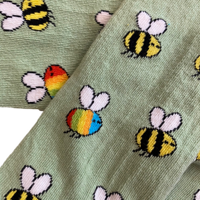 Slugs and Snails Rainbees Tights