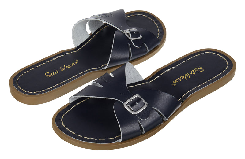 Salt-Water Sandals Classic Slide Navy - adult