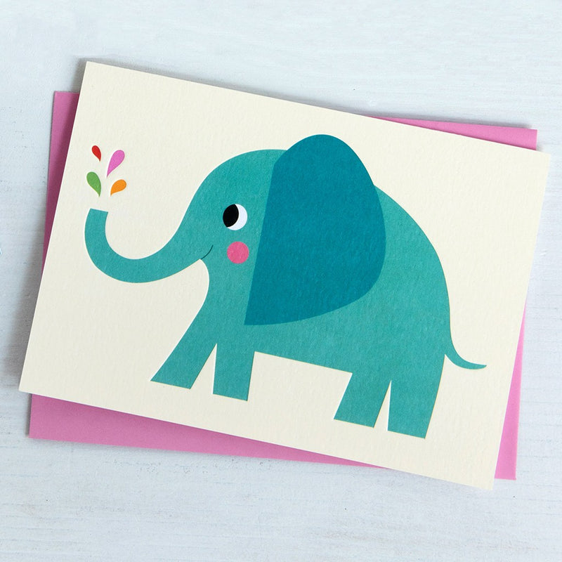 Rex of London Elvis The Elephant Card