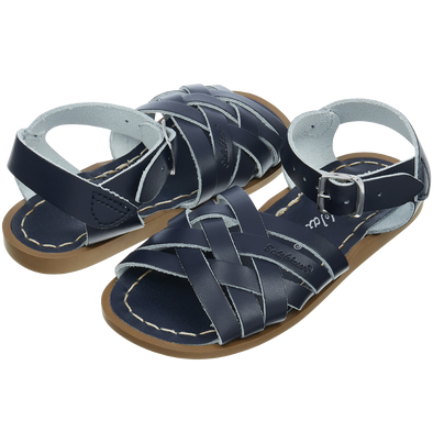 Salt-Water Sandals Retro Navy - child