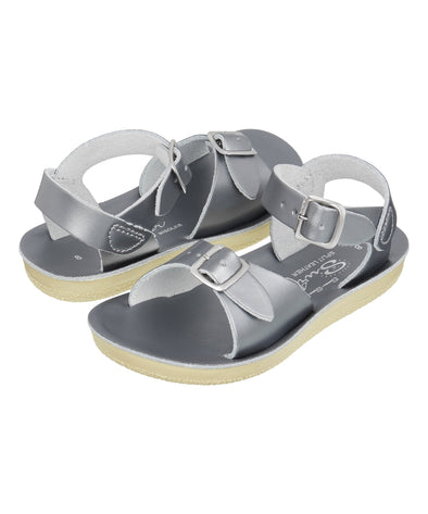 Salt-Water Sandals Surfer Pewter - child