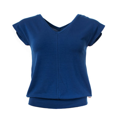 Froy and Dind Jacqueline Hip Blue Top